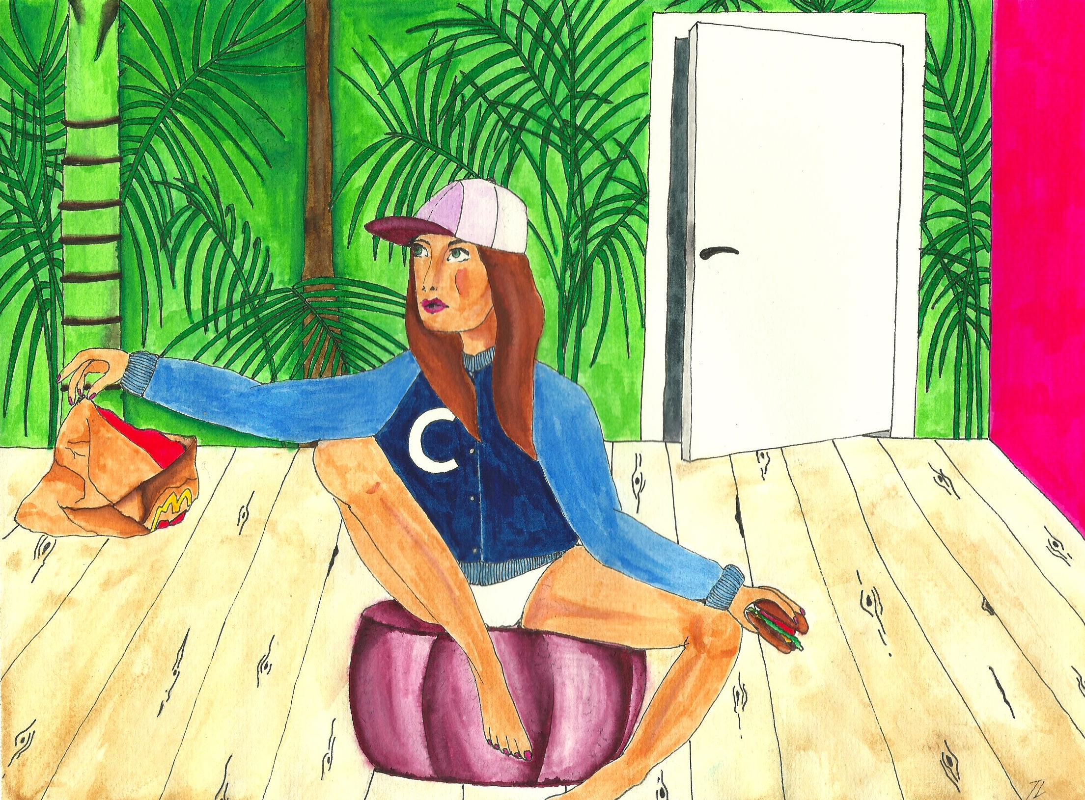 Tegning: Trine Lundager